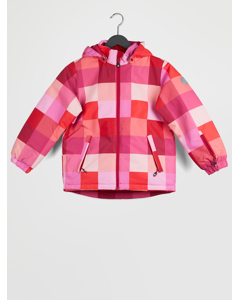 Dikson Padded Ski Jacket Aop Raspberry