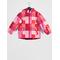 Dikson Padded Ski Jacket Aop Raspberry