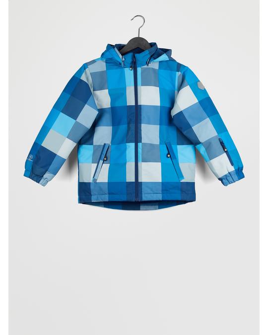 Color Kids Dikson Padded Ski Jacket Aop Estate Blue