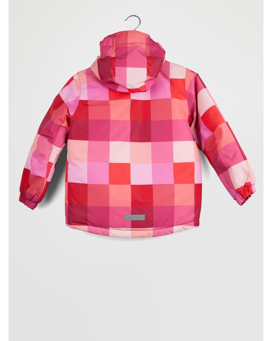 Color Kids Dikson Padded Ski Jacket Aop Raspberry