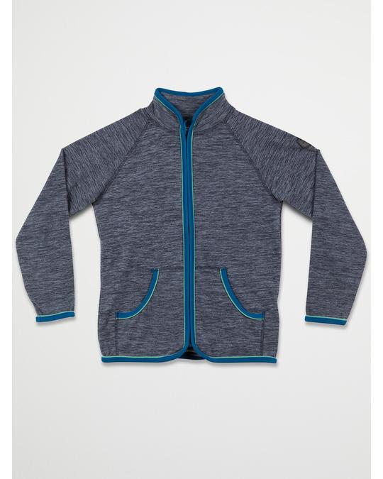 Color Kids Fleece Jacket Steel