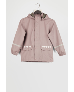 Jacket Pu Grey Orchid