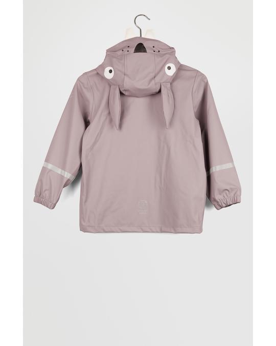 Color Kids Jacket Pu Grey Orchid