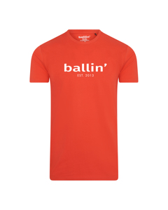 Ballin Est. 2013 Basic Shirt Rood