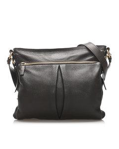 Prada Leather Crossbody Bag Black