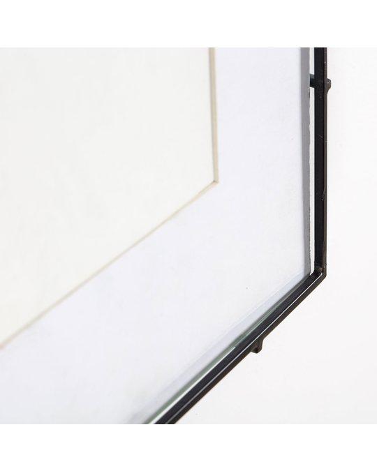 MH London Barin 14 Black Square Rod Photo Frame