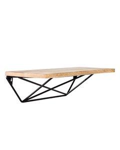 Zico - Floating Decorative Wall Shelf - Black