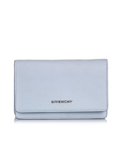 Givenchy Pandora Wallet On Chain Blue