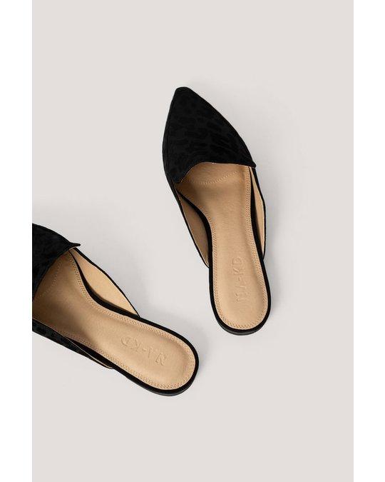 NA-KD Slippers Black