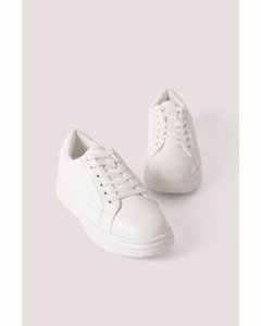 Quilted Sneakers Offwhite
