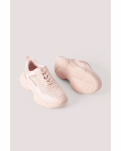 Mixed Upper Trainers Pink