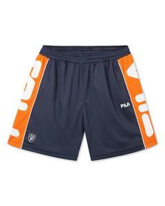 Men Teritus Shorts Black Iris-mandarin Orange