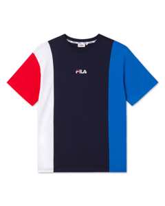 Men Saint Tee Black Iris-victoria Blue-bright White-true Red