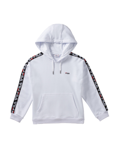 Women Clara Hoody Sweat Bright White