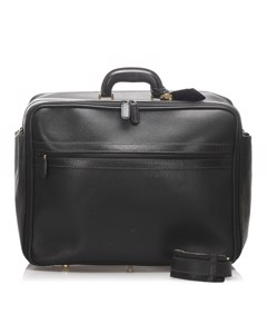 Gucci Leather Travel Bag Black
