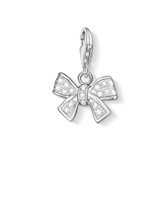 Charm Pendant Bow 925 Sterling Silver