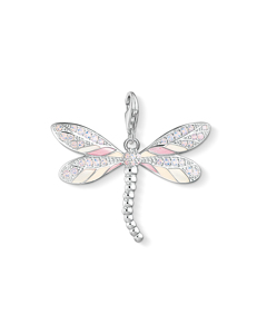 Charm Pendant Dragonfly 925 Sterling Silver