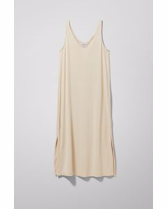 Abby Tank Dress Beige