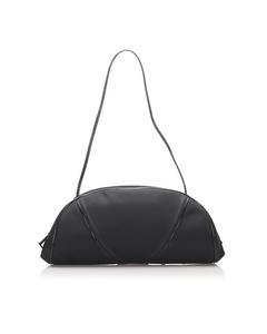 Dior Nylon Shoulder Bag Black