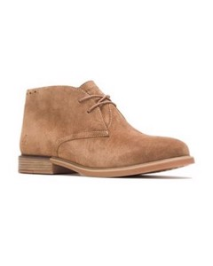 Hush Puppies Womens/ladies Bailey Bounce Leather Chukka Boot