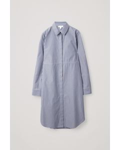 Long Shirt Dress Blue