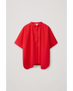 Oversized Shirt Red