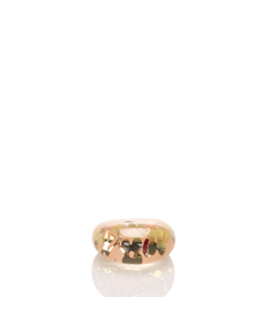 Louis Vuitton Resin Crystal Inclusion Ring Multi