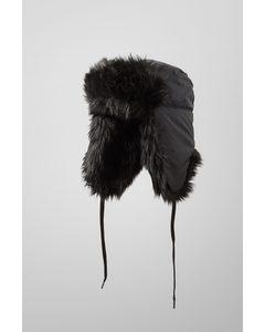 Muzzy Trapper Hat Black