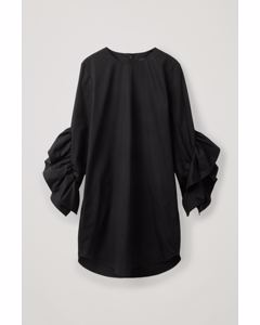Ruffle Dress Black