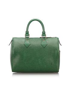 Louis Vuitton Epi Speedy 25 Green