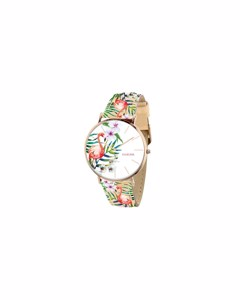 Clueless Armbanduhr mit mehrfarbigem Lederarmband