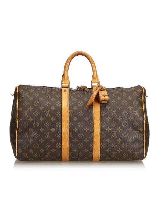 Louis Vuitton Louis Vuitton Monogram Keepall 45 Brown