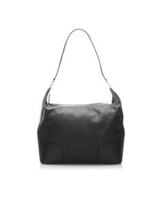 Loewe Leather Travel Bag Black