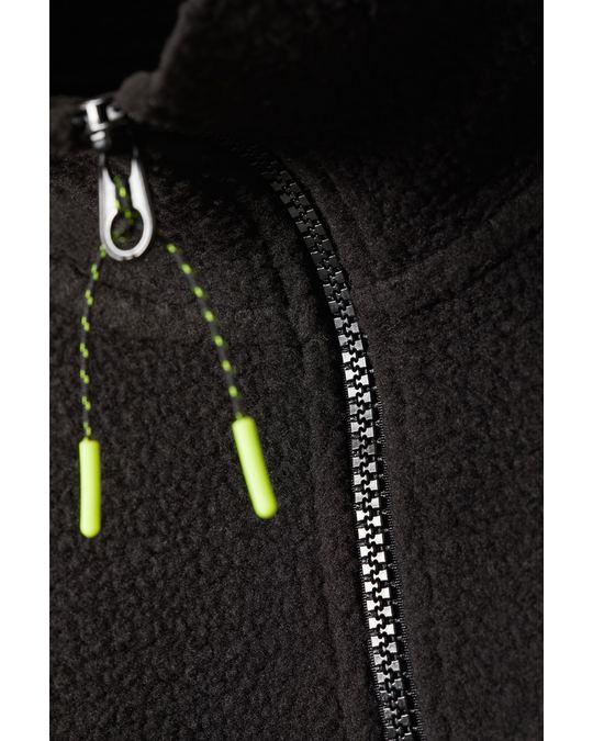 Weekday Maja Fleece Sweatshirt Black