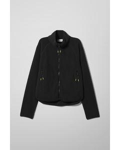 Katy Fleece Jacket Black