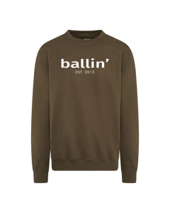 Ballin Est. 2013 Basic Sweater Gron