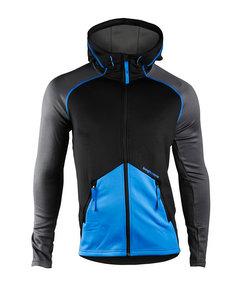 Clima Hood Jacket Men Black/blue