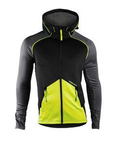 Clima Hood Jacket Men Black/lime