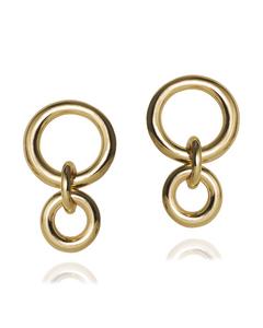 Acer Earrings Gold