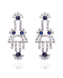 Marina Earrings Silver
