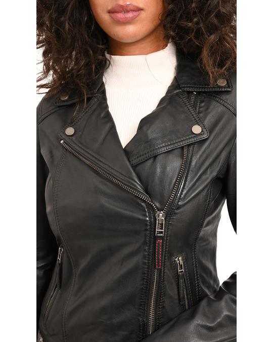Logan soul Short Leather Jacket