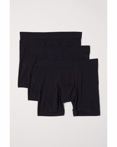 3-pack Mid Trunks Svart