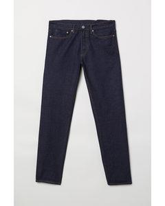 Straight Jeans Dunkelblau