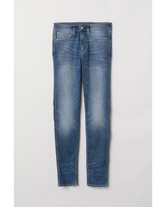 Tech Stretch Skinny Jeans Blau