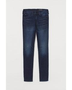 Tech Stretch Skinny Jeans Dunkelblau
