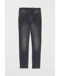 Tech Stretch Slim Jeans Dunkelgrau