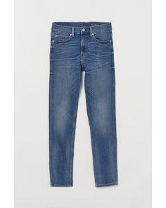 Tech Stretch Slim Jeans Blau/Washed