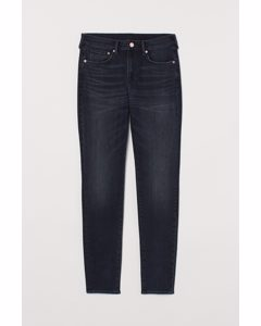 Skinny Jeans Dunkelblau/Washed out