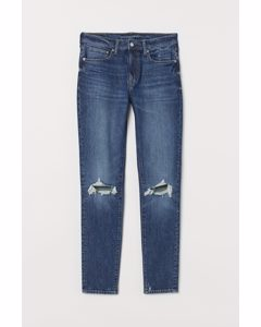 Skinny Jeans Denimblå/trashed