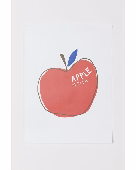 H&M HOME Poster White/apple Of My Eye